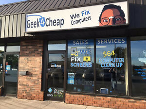 Geek4Cheap ★ $64 Computer Clean Up ★ CHATHAM'S Best GEEKS