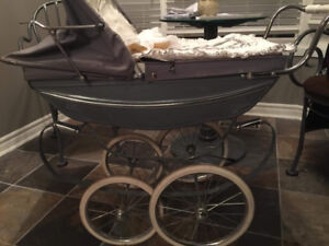 Silver cross doll pram carriage Oberon excellent condition
