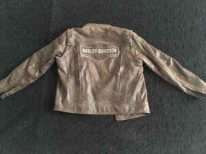 Harley Davidson men's large leather jacket for sale