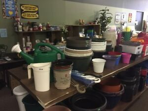 Variety of Plant Pots
