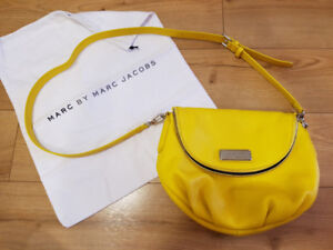 Marc by Marc Jacobs Yellow 'Grapefruit' (colour) Leather New Q