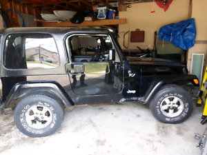 2000 Jeep TJ Hartop Only