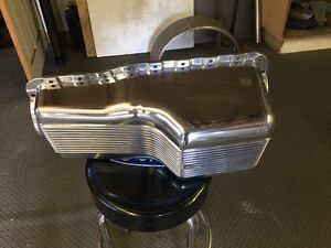 SBF FINNED OIL PAN! Cambridge Kitchener Area image 1