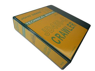 John Deere Jd450-c Crawler Technical Service Repair Manual Book 450c 450-c
