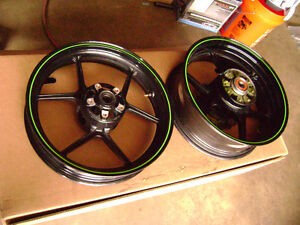 2009 Kawasaki ZX6R Wheels For Sale $450 For The Set
