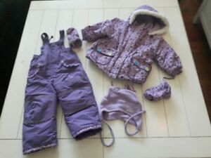 Size 18 Months Girl Trois Moutons Winter Kit