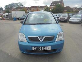 Vauxhall Meriva 1.6i Life 5 DOOR - 2004 04-REG - FULL 12 MONTHS MOT