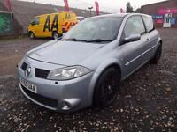 RENAULT MEGANE 2.0T 225 RENAULTSPORT~55/2005~3 DOOR~6 SPEED MANUAL~STUNNING