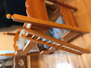Wooden Doll Bunk Beds