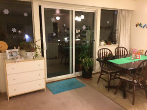 Room for rent in 3 bdrm apartment close to SFU