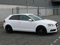 Audi A3 1.8 TFSI Sline Black Edition 3 Door in White NOW SOLD