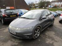 2006 Honda Civic Hatch 5Dr 2.2CTDi 140 SE 6Spd Diesel grey Manual
