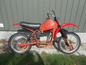 1980 Honda cr250 elsinore vintage motocross parting out or $150