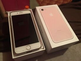 Apple iPhone 7 - 32gb - rose gold - EE
