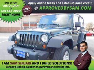 JEEP 4X4 - HIGH RISK LOANS - LESS QUESTIONS - APPROVEDBYSAM.COM