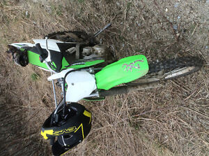 Reduced  KLX 140L Kawasaki good shape