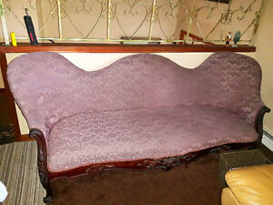 Antique Victorian Rosewood Hand Carved Sofa FOR SALE...