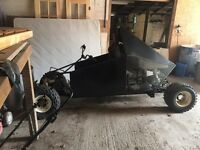 Go kart rolling chassis