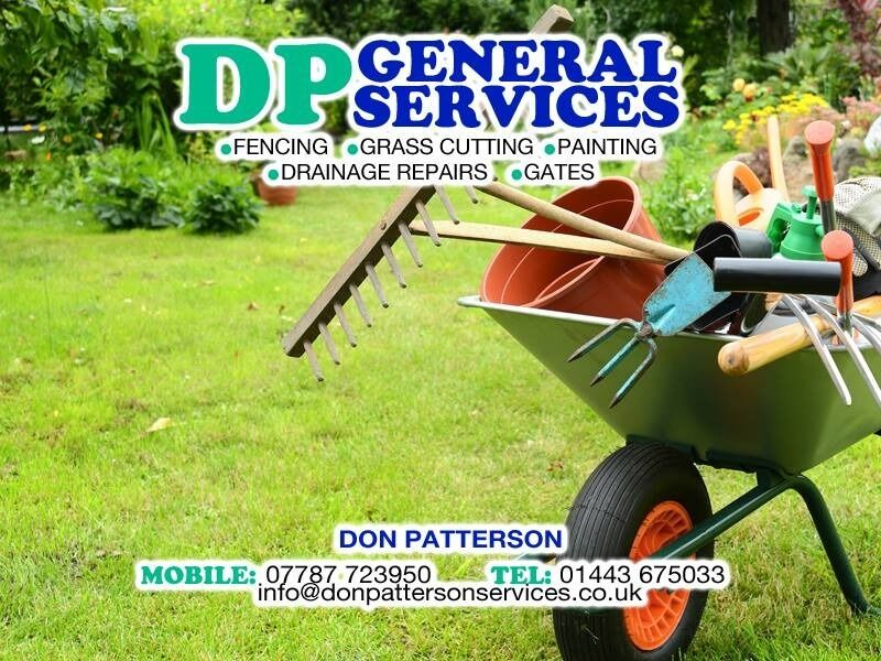 Dp general services garden maintenance in tonyrefail for General garden services