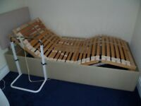 REDUCED! Salus 1200 Adjustable Bed without mattress