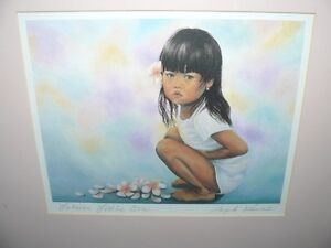"""""""Lahaina Little One"""" Art from Hawaii – BRAND NEW - 75% off"""