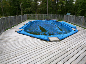Free scrap wood from pool deck for pickup anytime