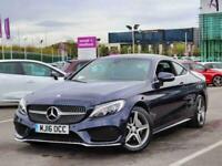 2016 Mercedes-Benz C Class C220d AMG Line 2dr Auto Diesel Automatic