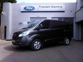 NEW Ford Transit Custom 2.0TDCI 130PS 270 L1H1 Limited in Magnetic+ 230V- Onsite