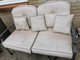 Garden 2 seater sofa
