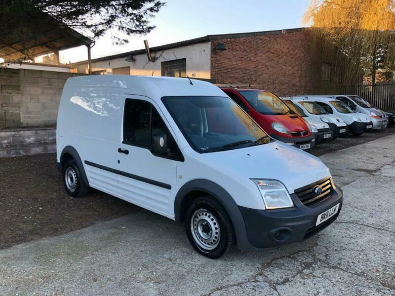 058b147c10 2011 Ford Transit Connect T230 LWB High Roof 1.8 TDCI Manual White