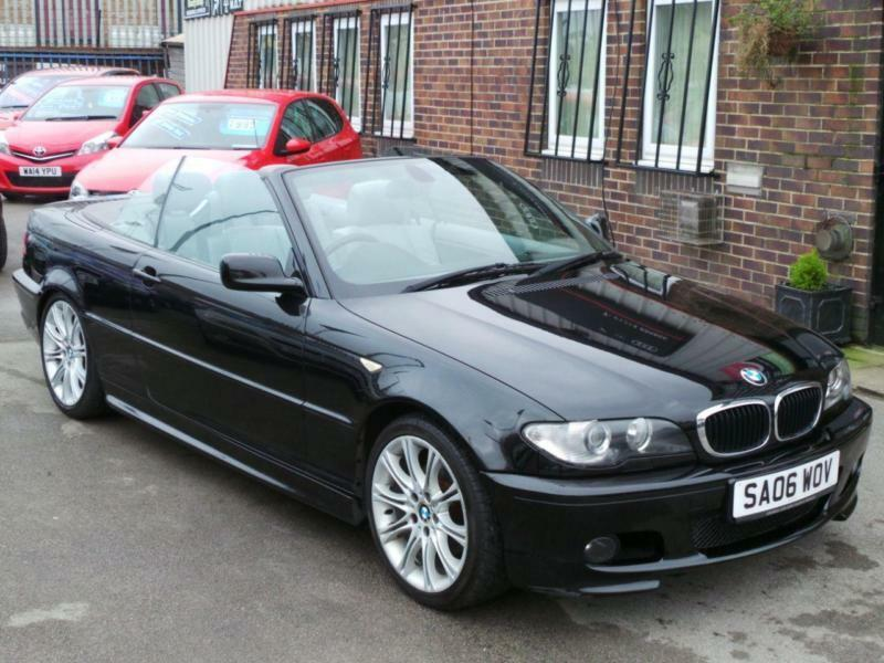 2006 bmw 3 series 320 ci m sport edition 2dr 2 door convertible in bradford west yorkshire. Black Bedroom Furniture Sets. Home Design Ideas
