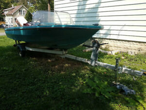 18' 70hp Northcraft for 1000 obo