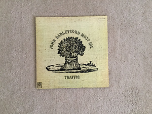 Traffic John Barleycorn Must Die 33 1/3 RPM vinyl LP