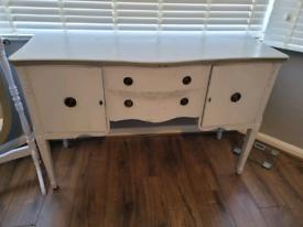 Dresser with matching mirror
