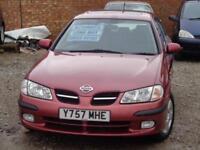 2001 NISSAN ALMERA Se Plus 1.8 Auto