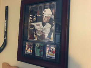 Jody Shelley Signed and Framed Picture