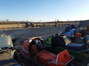 Annual Inventory Used Snowmobile Parts Sale