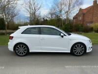 2016 Audi A3 1.4 TFSI 125 S Line 3dr [Nav] Hatchback Petrol Manual