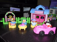 Fisher Price Little People Garden Tea Party Playhouse