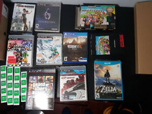 Used games and stuff