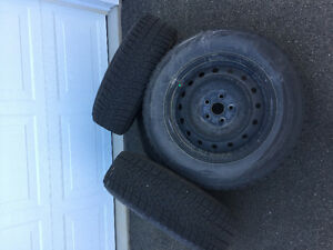 Bridgestone Blizzak Set of Winter Tires