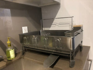 Dish Drying Rack | Stainless Steel