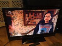 "Sharp 42"" lcd tv free view HDMI x3 scart ect"