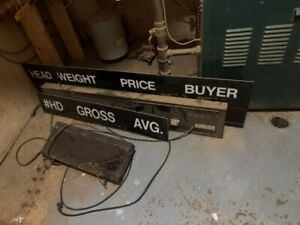 Cattle Weigh Boards