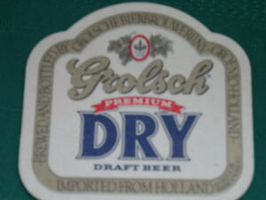 Grolsch bottles and coasters Cornwall Ontario image 3