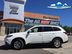 2016 Mitsubishi Outlander SE  ACCIDENT FREE, AWD, WARRANTY, EASY