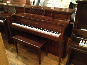 Yamaha Upright Piano Mahogany FREE DELIVERY