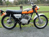 HONDA CL175 1971 174cc MOT'd SEPTEMBER 2018