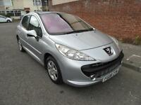 2008 PEUGEOT 207 1.4L 16V 90 SE MANUAL PETROL 5 DOOR HATCHBACK