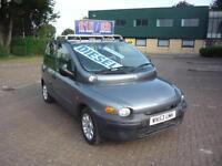 FIAT MULTIPLA 1.9 SX JTD..* 6-Seats * £15 Per Week..£O Deposit * 2003 Diesel